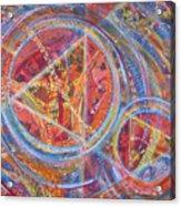 Microcosm Xvi Acrylic Print
