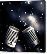 Microphone Club Acrylic Print