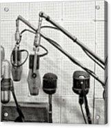 Microphones At Sun Records Acrylic Print