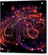 Microscopic Iv - Glass Jewels Acrylic Print