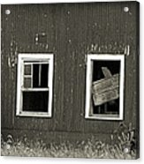 Mid-century Barn Wood Salvage Acrylic Print