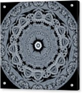 Mid Night Kaleidoscope Acrylic Print