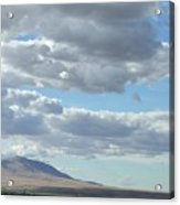 Midday Cloudscape Acrylic Print