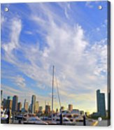 Midday In Miami Acrylic Print