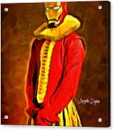 Middle Ages Iron Man Acrylic Print