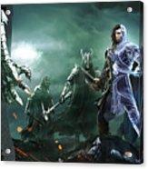 Middle-earth Shadow Of War Acrylic Print