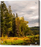 Middle Fork Acrylic Print
