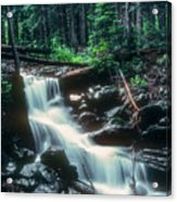 Middle Fork Red River Falls Acrylic Print