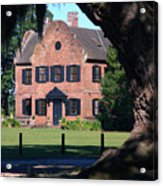 Middleton Place Plantation House Acrylic Print