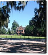 Middleton Plantation Charleston Sc Acrylic Print