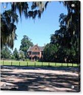 Middleton Plantation Charleston Sc Acrylic Print