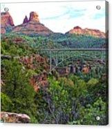 Midgley Bridge Acrylic Print