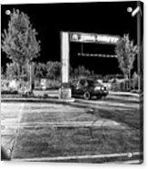 Midnight At Mickey D's Acrylic Print