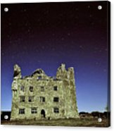 Midnight Blue At Leamanch Castle The Gateway To The Burren Acrylic Print