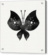 Midnight Butterfly 2- Art By Linda Woods Acrylic Print