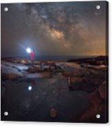 Midnight Explorer Mirror Finish Acrylic Print