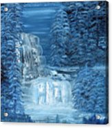 Midnight Falls Acrylic Print
