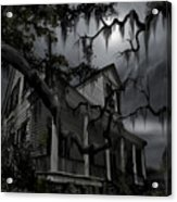 Midnight In The House Acrylic Print by James Christopher Hill