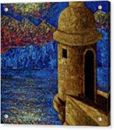 Midnight Mirage In San Juan Acrylic Print