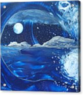 Midnight Moon Acrylic Print