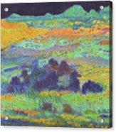 Midnight Prairie Dream Acrylic Print