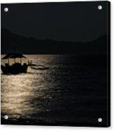 Midnight Sailing Acrylic Print
