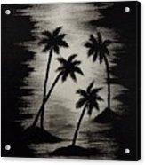 Midnight Sands Acrylic Print