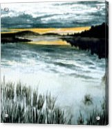 Midnight Sun Acrylic Print