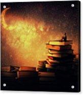 Midnight Tale Acrylic Print