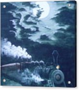 Midnight Train Acrylic Print