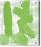 Midori- Abstract Art By Linda Woods Acrylic Print