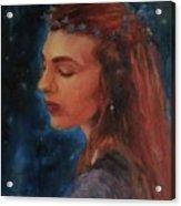 Midsummer Night Fairy Acrylic Print