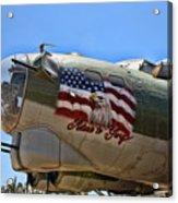 Mighty B-17 Fortress Acrylic Print