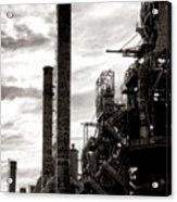 Mighty Bethlehem Steel Acrylic Print