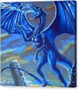 Mighty Blue Acrylic Print