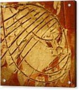 Mighty Masaai - Tile Acrylic Print