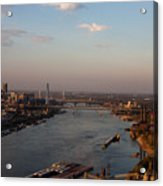 Mighty Mississippi Acrylic Print