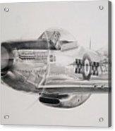 Mighty Mustang Acrylic Print