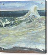 Mighty Nauset Wave Acrylic Print