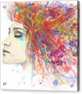 Migraine Acrylic Print