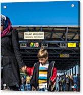 migrants in Nicklesdorf Acrylic Print