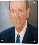 Mike Huckabee Portrait Acrylic Print