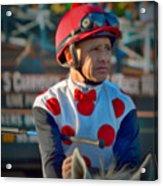 Mike Smith- Horse Jockey Acrylic Print