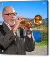 Mike Vax Professional Trumpet Player Photographic Print 3761.02 Acrylic Print