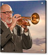 Mike Vax Professional Trumpet Player Photographic Print 3765.02 Acrylic Print