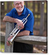 Mike Vax Professional Trumpet Player Photographic Print 3766.02 Acrylic Print