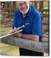 Mike Vax Professional Trumpet Player Photographic Print 3767.02 Acrylic Print