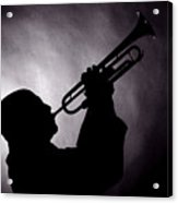 Mike Vax Professional Trumpet Player Photographic Print 3768.02 Acrylic Print