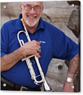 Mike Vax Professional Trumpet Player Photographic Print 3770.02 Acrylic Print
