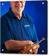 Mike Vax Professional Trumpet Player Photographic Print 3771.02 Acrylic Print